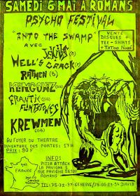 Psycho Festival Into the Swamp