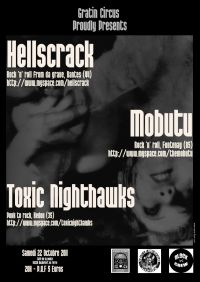 hellscrack, the mobutu, toxic nighthawks